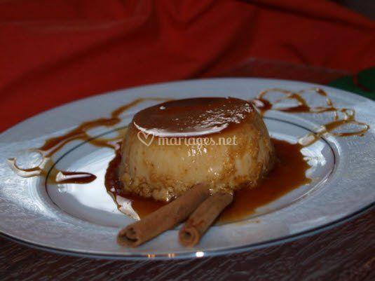 Traiteur antillais (Flan au coco)