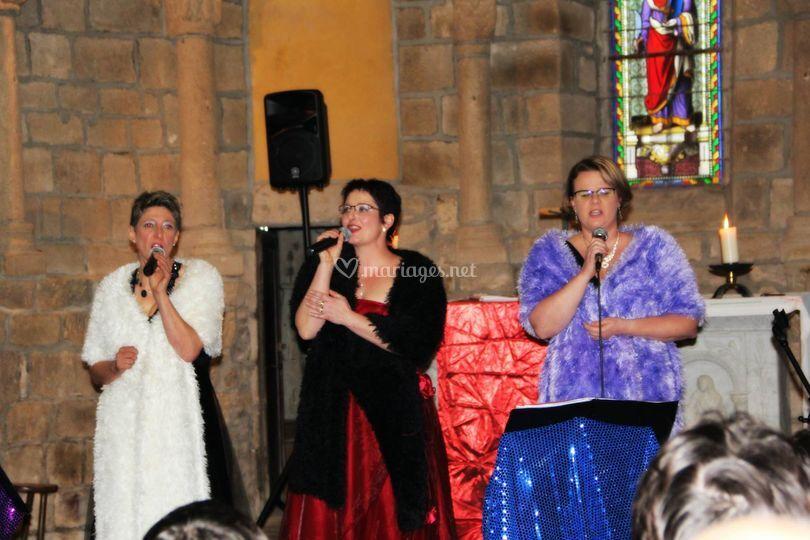 Eglise concet trio