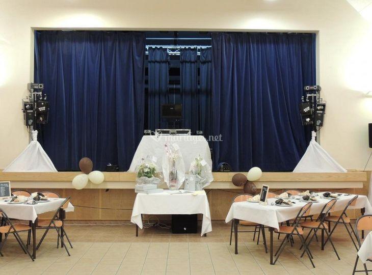 Mariage salle de réception