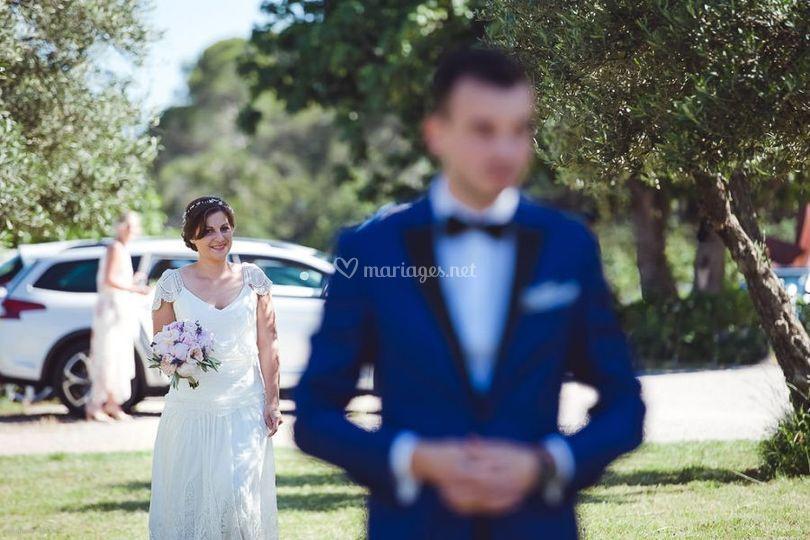 La mariée arrive !