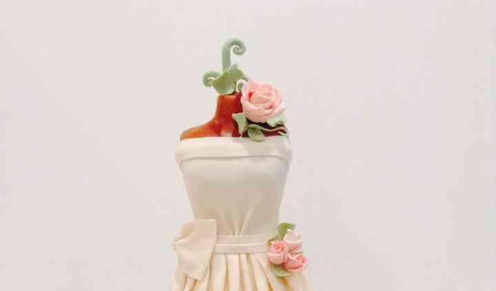 """Gâteau """"robe de mariée"""""""