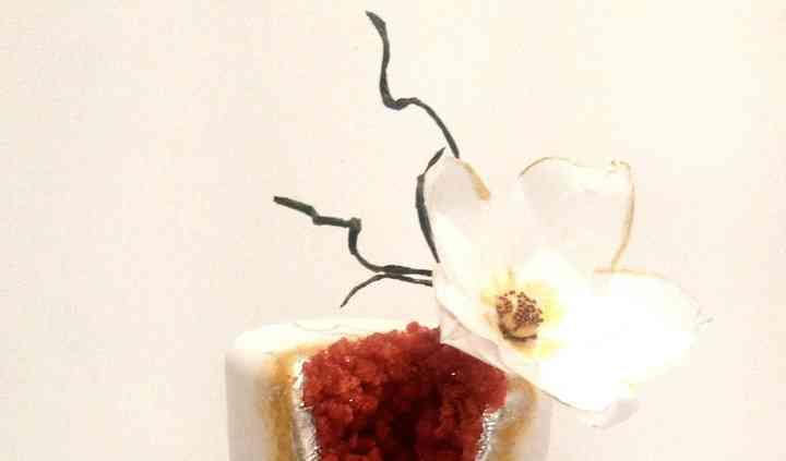 "Wedding cake ""géode"""