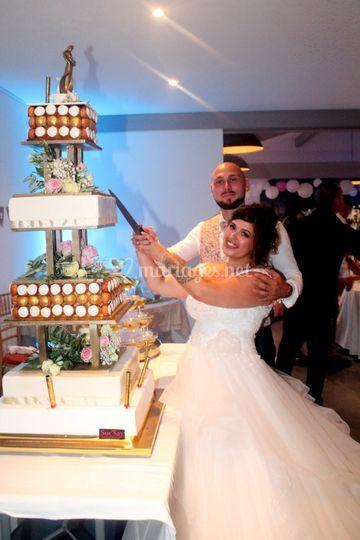 Le dessert des mariés !