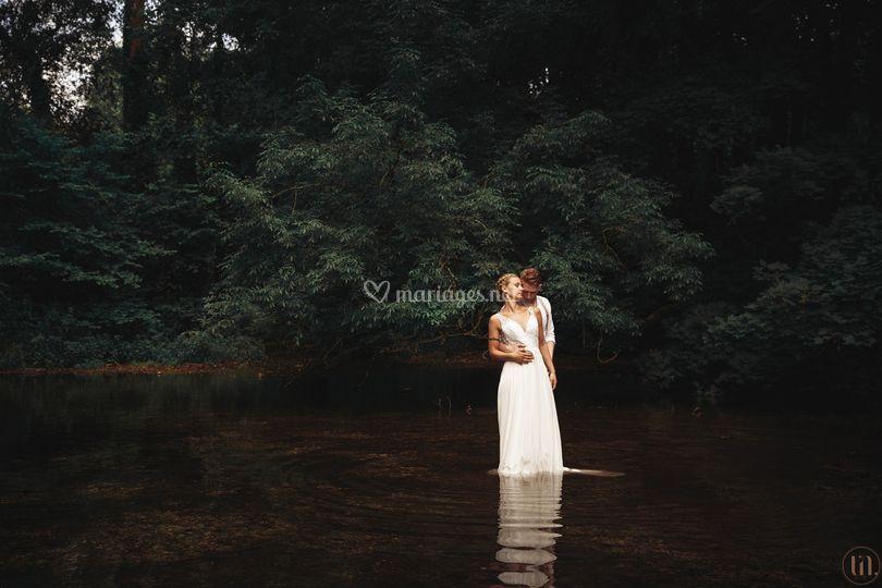 Lisa et Jean couple eau