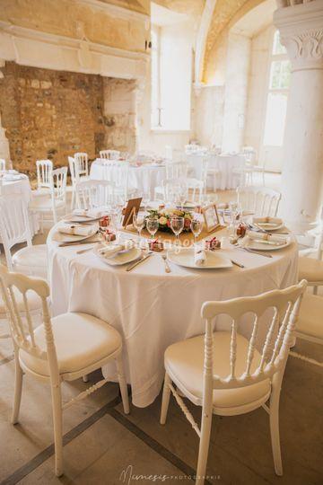 Table abbaye du valasse