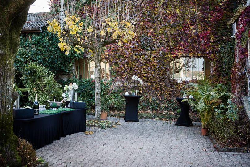 Jardin de réception