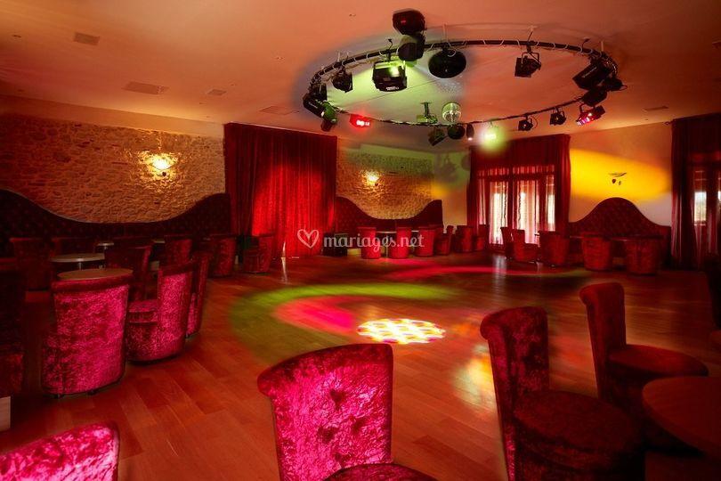 Salle club disco