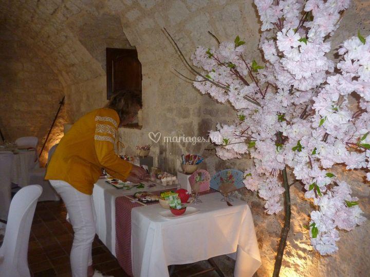 Décoration cerisier du Japon