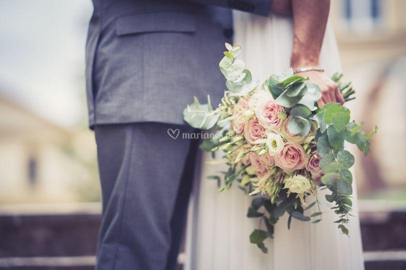 Remise du bouquet