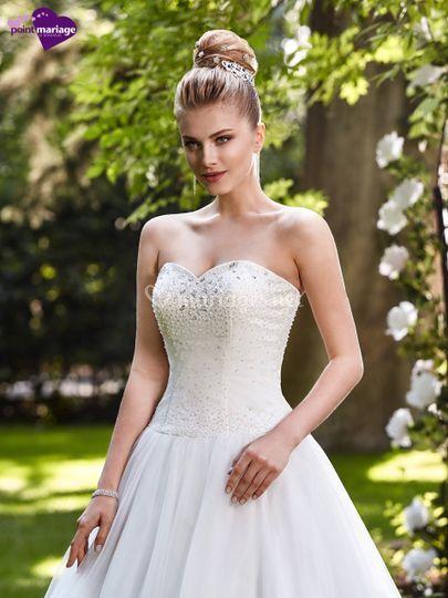 robe de marie petra sur point mariage toulouse - Point Mariage Portet Sur Garonne