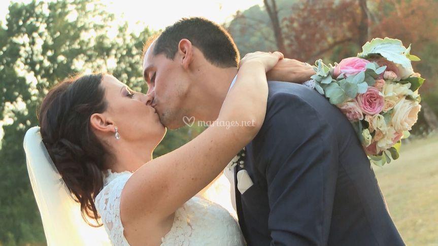 Le baiser d'amour