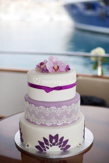 Thème orchidées et violet
