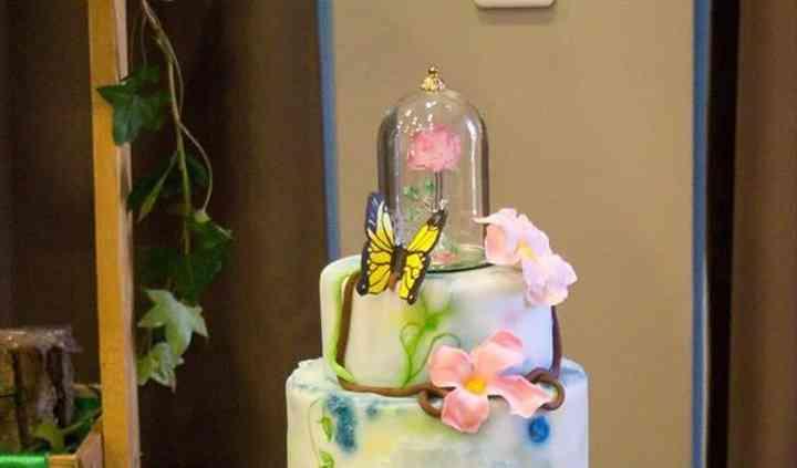 Wedding cake enchanté