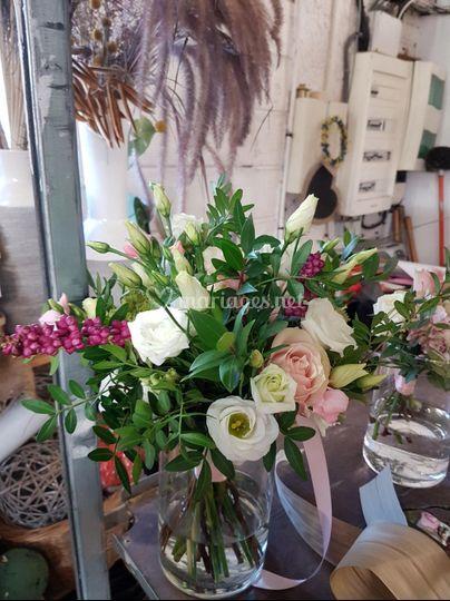 Essais bouquet mariée