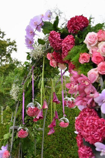 Arche fleurie
