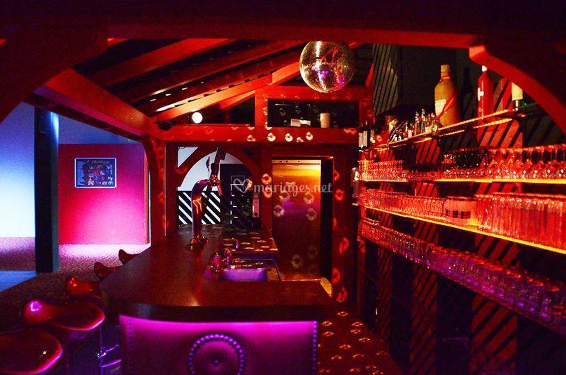 Bar de notre salle
