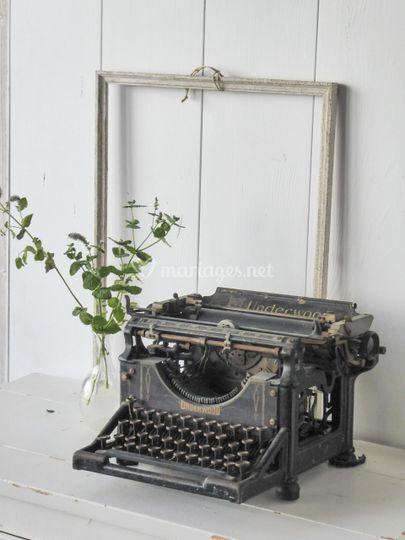 Location machine a écrire