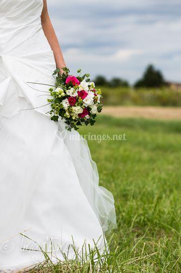 Détails mariée