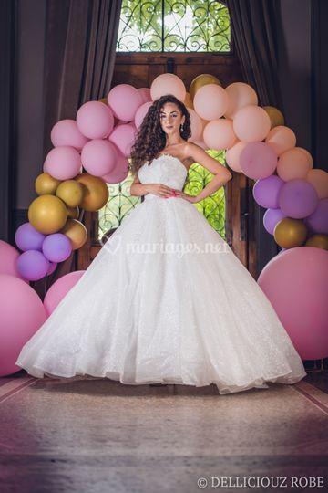 Robe de mariée princesse Lyon