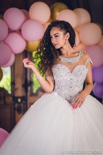 Robe de mariée Strass
