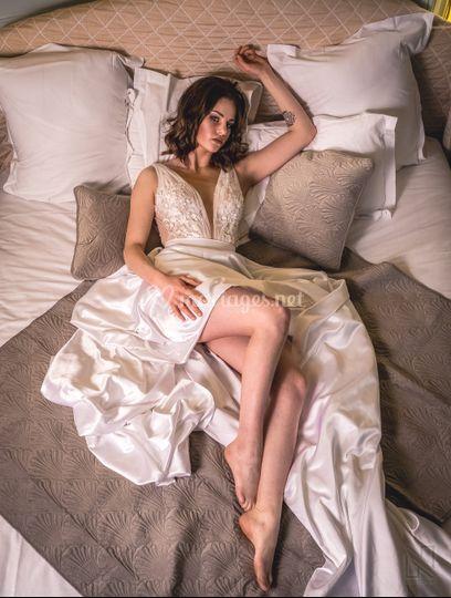 La mariée et sa robe