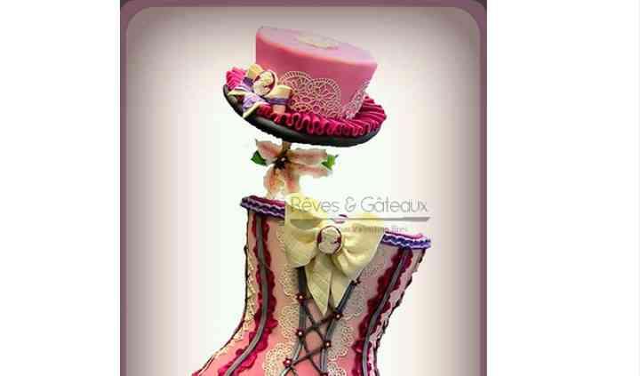 Wedding cake burlesque (5étag)
