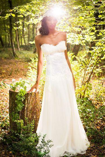Robe mariée Gwanni Amélie