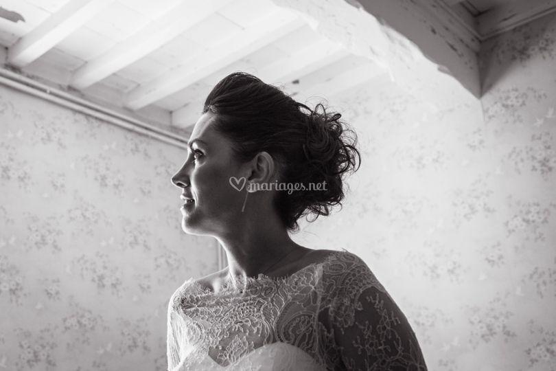 Préparation la mariée