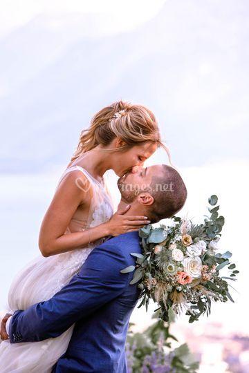 Mariage au bord du lac Léman