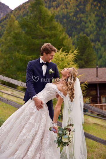Mariage dans la campagne