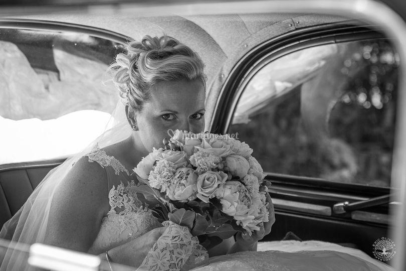 Photographe mariage noir bl