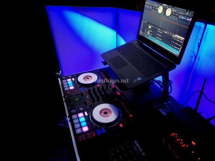 Table de mixage pioneer
