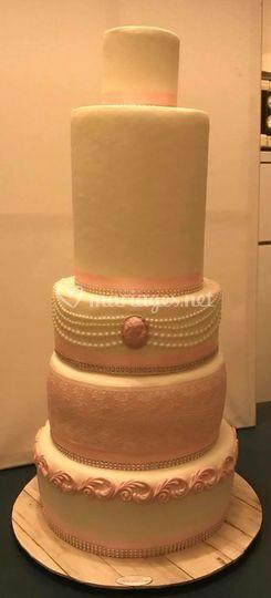 Vintage Mariage Cake