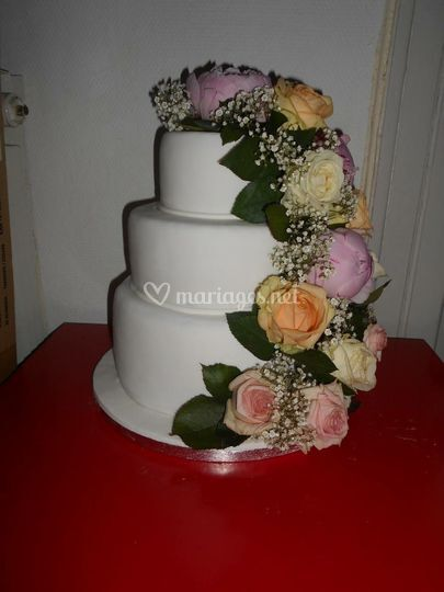 Fleuri Mariage Cake