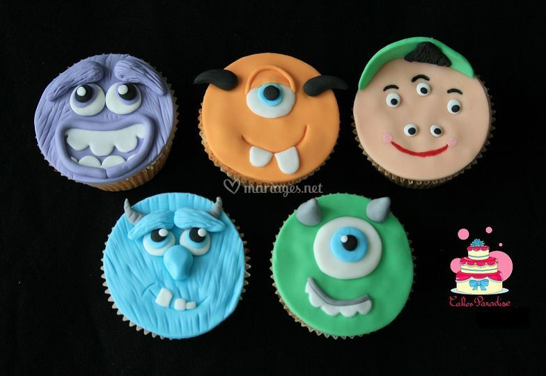 Cupcakes Monsters Academy
