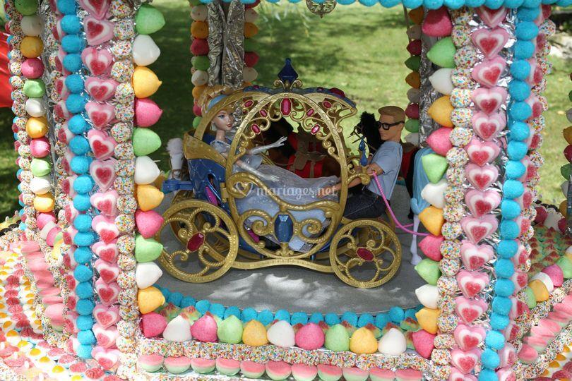 Carrousel avec chevaux