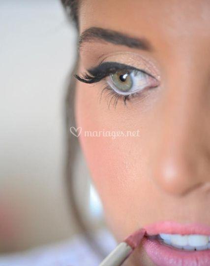 Make up glam