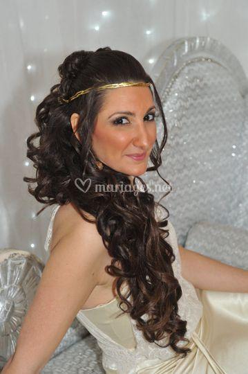 Coiffure maquillage henné