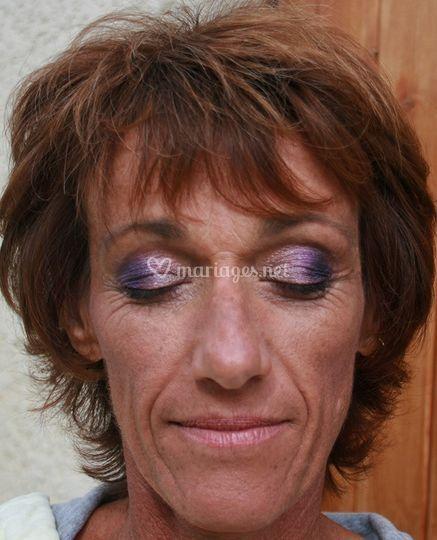 Maquillage invitée mariée