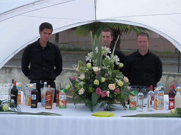 Service aperitif