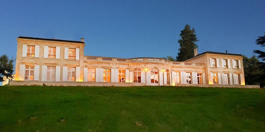 Chateau Gassies, Façade Ouest
