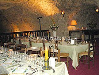 Salle à manger pour les banquets