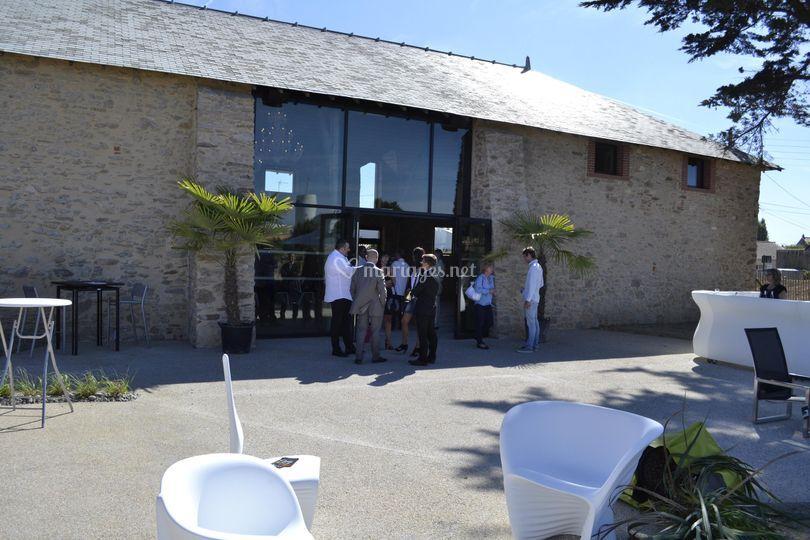 La terrasse de la Salorge
