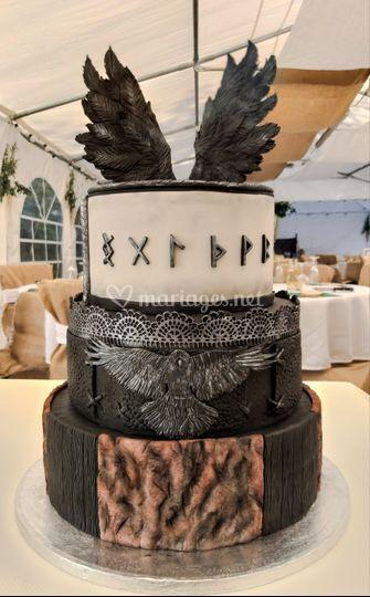Wedding cake vikings