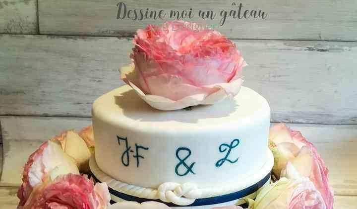 Gâteau d'anniversaire de maria