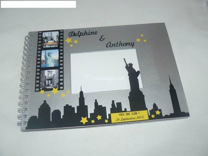 Livre d'or thème New York