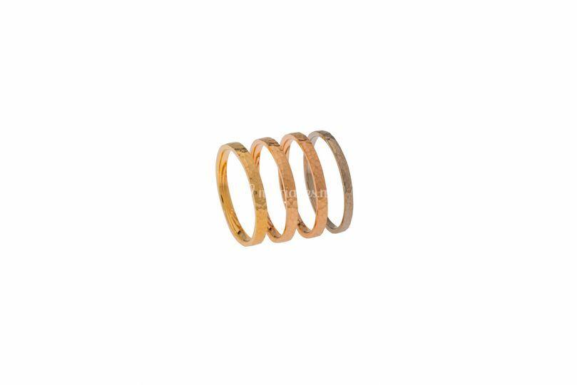 Modèle Sarita 4 couleurs d'or