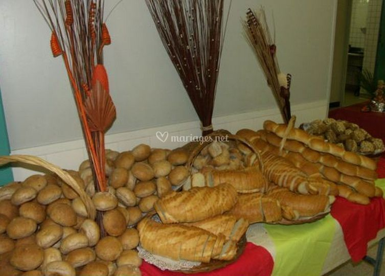 Table de pains