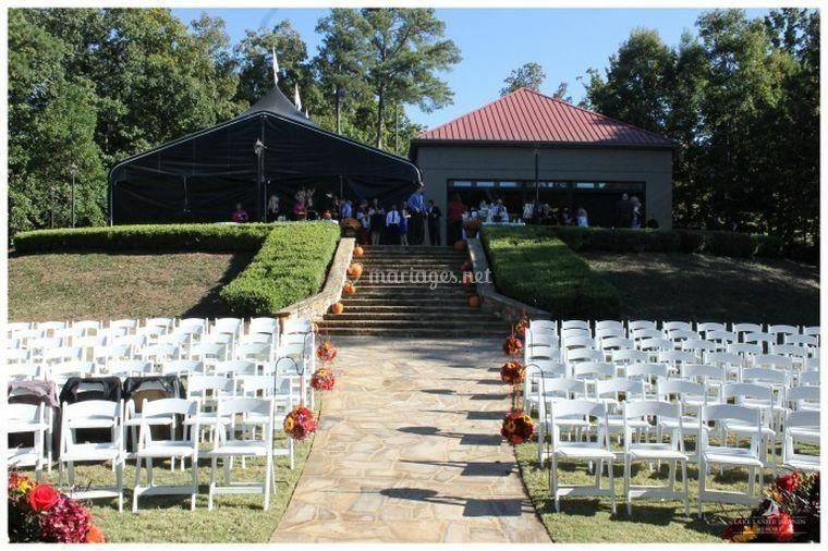 Chaises pour cérémonie