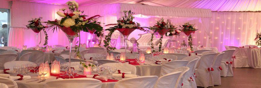 Centre de table florale